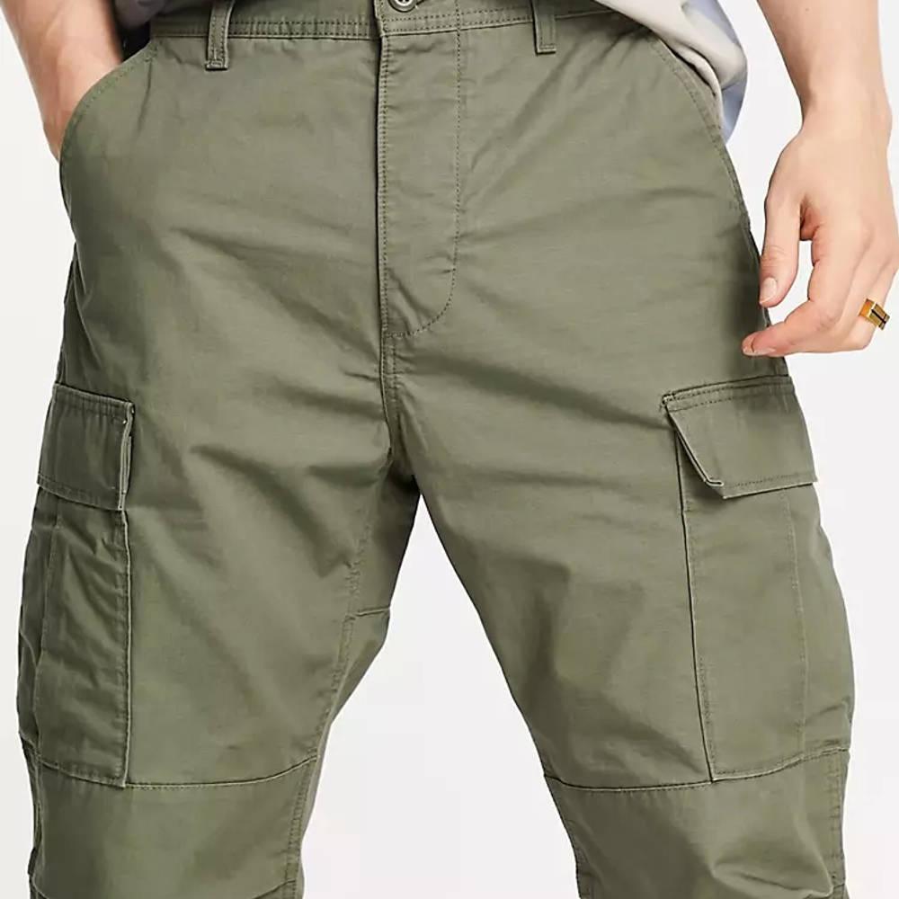 Levi's Skateboarding Ripstop Cargo Trousers Dark Green Detail