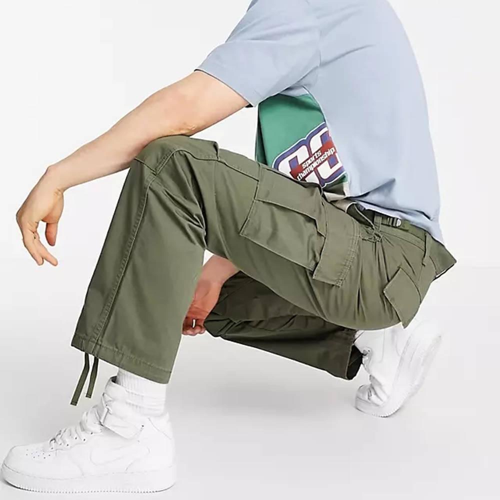 Levi's Skateboarding Ripstop Cargo Trousers Dark Green Full