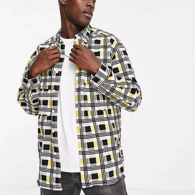 Levi's Skateboarding Square Check Relaxed Fit Overshirt Multi