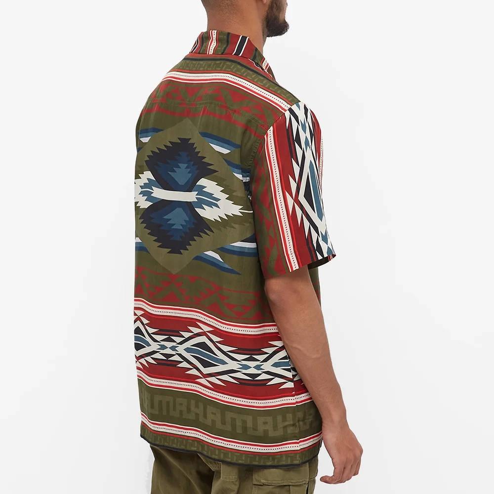 Maharishi Broken Arrow Vacation Shirt Multi Back