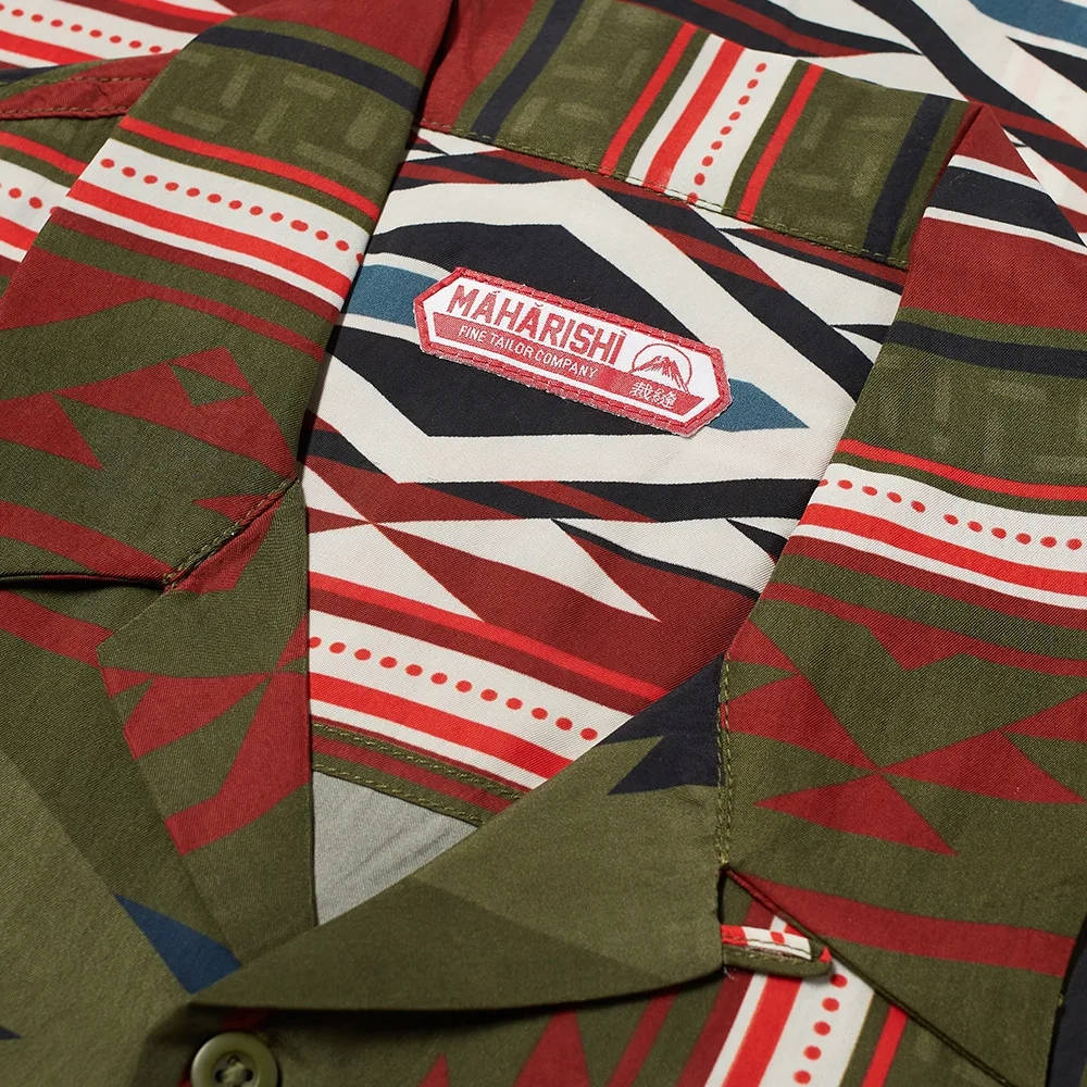 Maharishi Broken Arrow Vacation Shirt Multi Detail