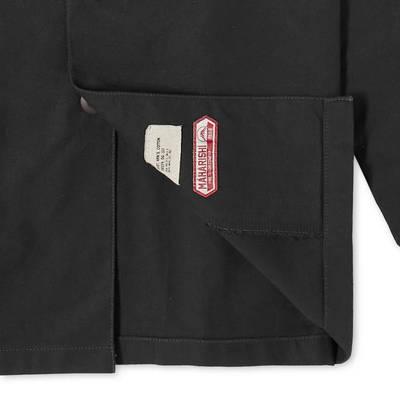 Maharishi Embroidered Dragon Shirt Black Detail