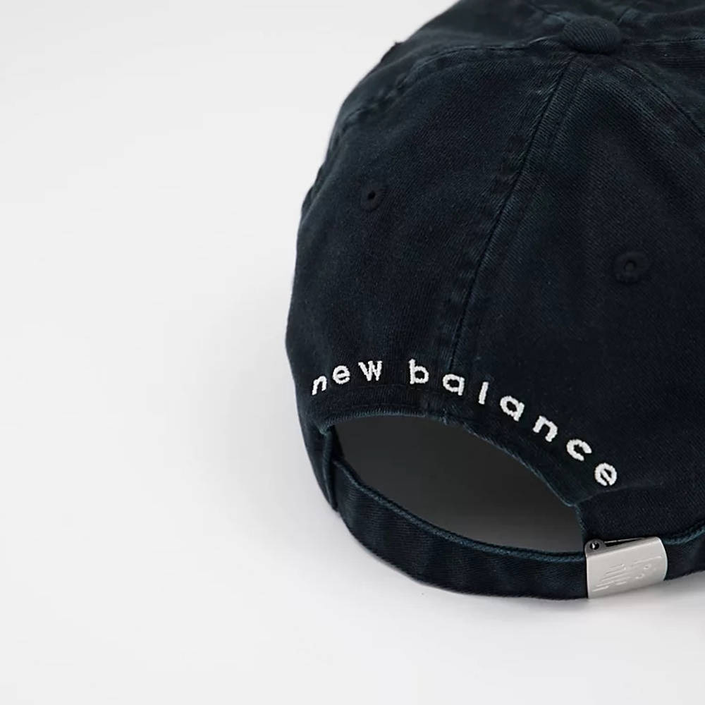 New Balance 574 Logo Baseball Cap Black Back