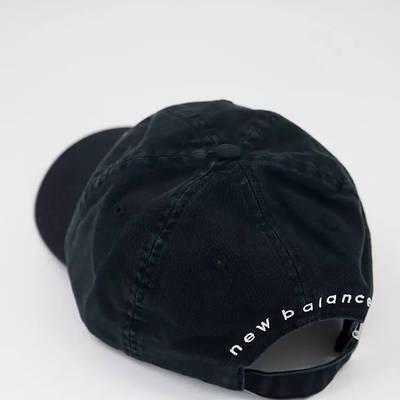 New Balance 574 Logo Baseball Cap Black Top