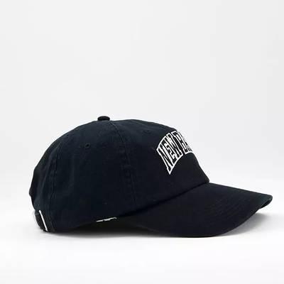 New Balance Collegiate Logo Baseball Cap Black Side