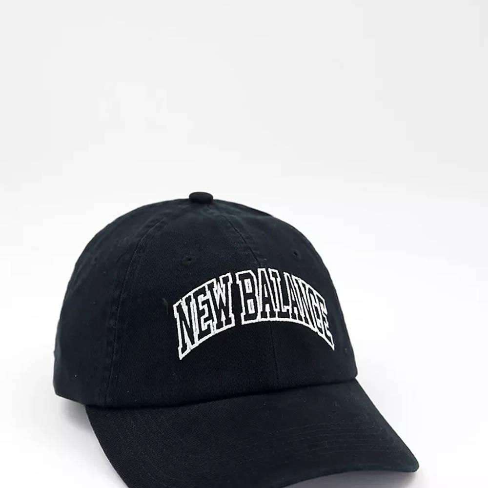 New Balance Collegiate Logo Baseball Cap Black