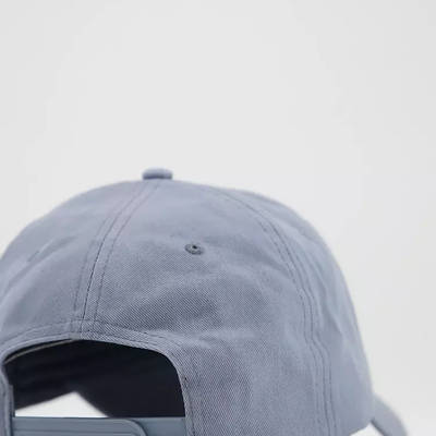 New Balance Core Logo Baseball Cap Grey Back