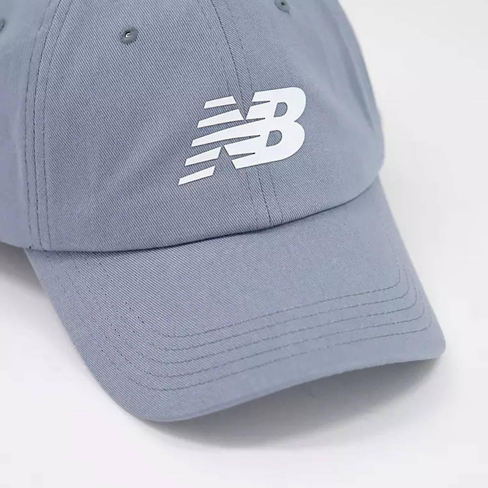 New Balance Core Logo Baseball Cap Grey Detail