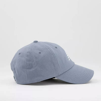 New Balance Core Logo Baseball Cap Grey Side