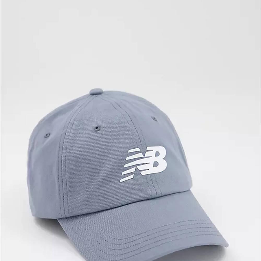 New Balance Core Logo Baseball Cap Grey