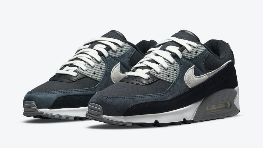 Nike Air Max 90 Premium Off-Noir Black Front