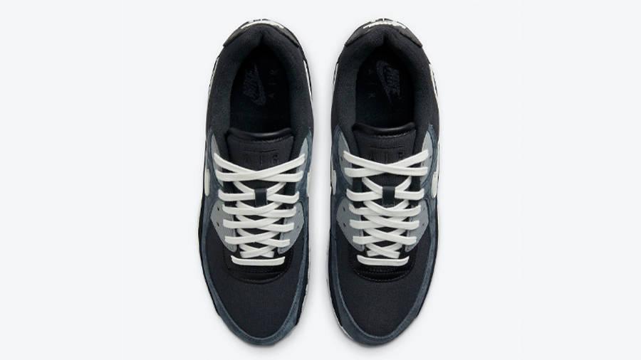 Nike Air Max 90 Premium Off-Noir Black Middle