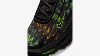 Nike Air Max Plus 3 Black Hazel Rush Volt DM9097-001 Detail
