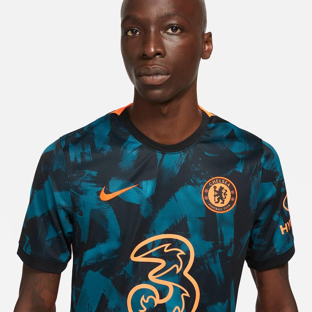 Nike Chelsea F.C. 2021-22 Stadium Third Football T-Shirt DB5894-468 Detail 3
