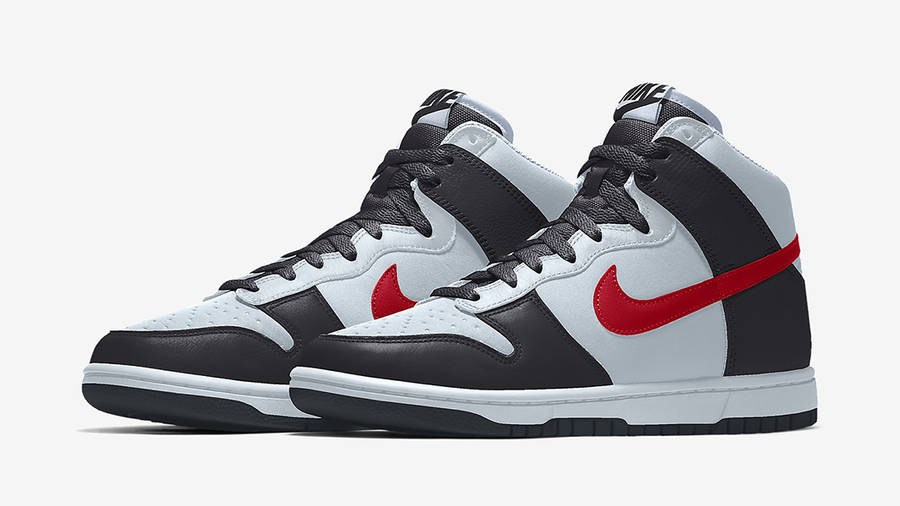 Nike Dunk High By You Multi Side