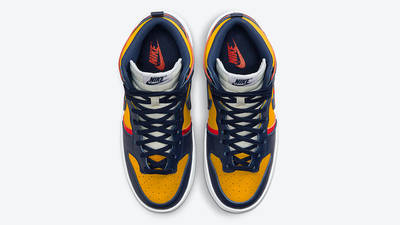 Nike Dunk High Rebel Michigan DH3718-701 middle