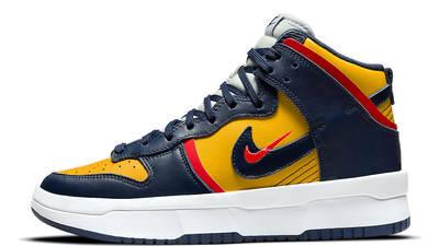 Nike Dunk High Rebel Michigan DH3718-701