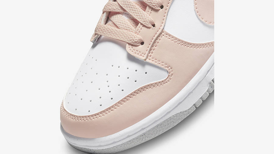 Nike Dunk Low Move to Zero Pink DD1873-100 Detail