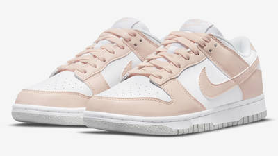 Nike Dunk Low Move to Zero Pink DD1873-100 Front