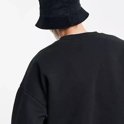 Nike Futura Logo Corduroy Bucket Hat Black Back