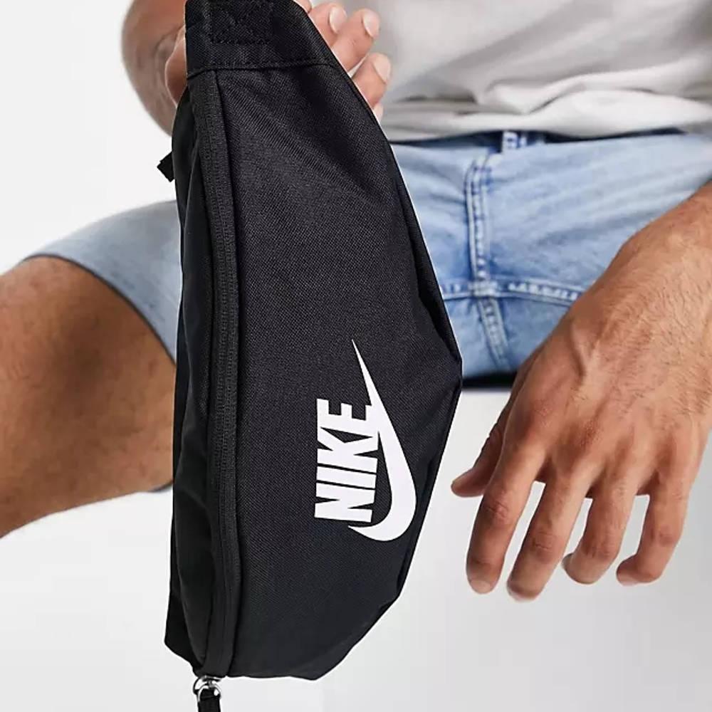 Nike Heritage Bumbag Black Detail 2