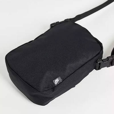 Nike Heritage Crossbody Bag Black Back