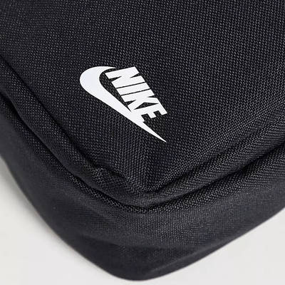 Nike Heritage Crossbody Bag Black Detail 2
