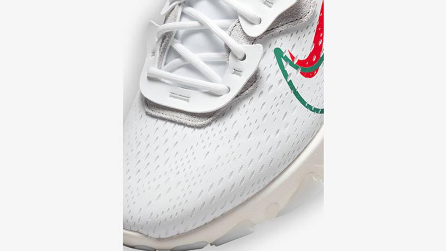 Nike React Vision Multi Swoosh White Sail DM9095-100 Detail