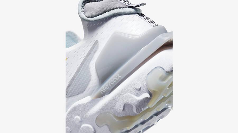 Nike React Vision Multi Swoosh White Smoke Grey DM9095-101 Detail 2