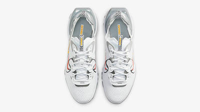 Nike React Vision Multi Swoosh White Smoke Grey DM9095-101 Top