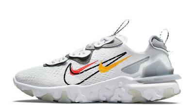 Nike React Vision Multi Swoosh White Smoke Grey DM9095-101