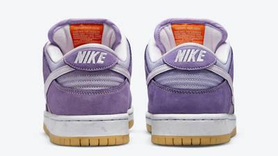 Nike SB Dunk Low Unbleached Pack Purple Back