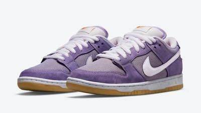 Nike SB Dunk Low Unbleached Pack Purple Front