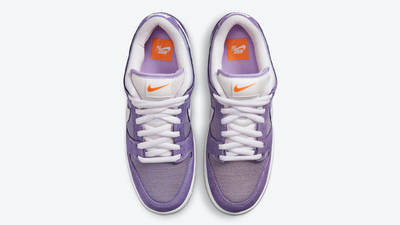 Nike SB Dunk Low Unbleached Pack Purple Middle