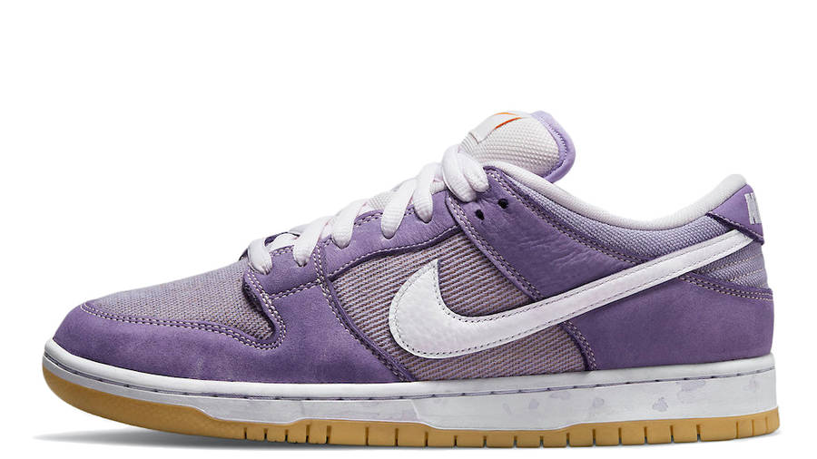 Nike SB Dunk Low Unbleached Pack Purple