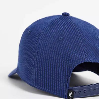 Nike SB H86 Seersucker Embroidered Logo Cap Navy Back