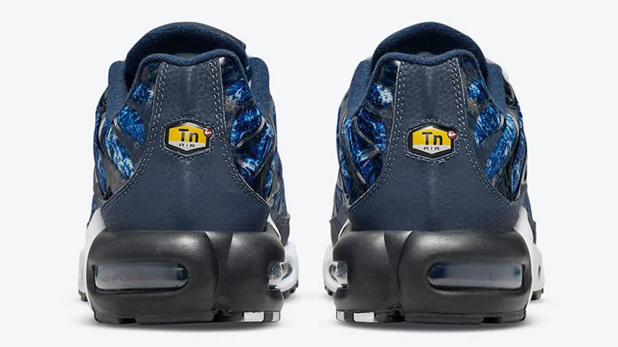 Nike TN Air Max Plus Blue Crinkled Metal DO6384-400 back