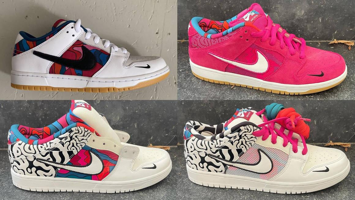 Parra x Nike SB Dunk Low Sample