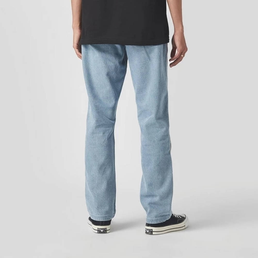 Pleasures Walk On Me Jeans Blue Back