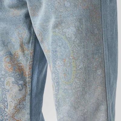 Pleasures Walk On Me Jeans Blue Detail