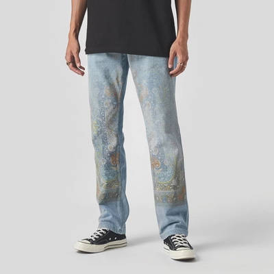 Pleasures Walk On Me Jeans Blue
