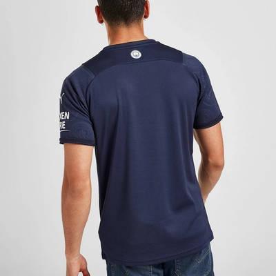 PUMA Manchester City FC 2021-22 Third Shirt Blue Back