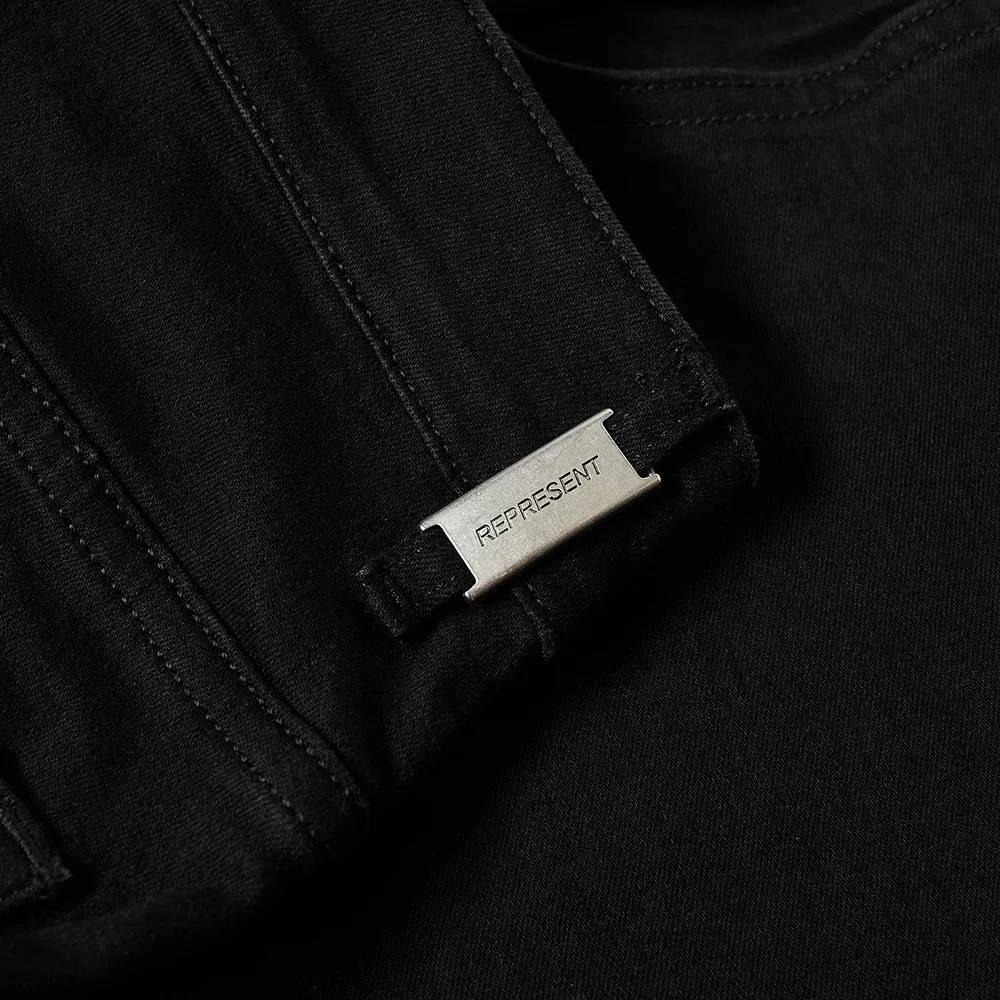 Represent Essential Jean Black Detail 3