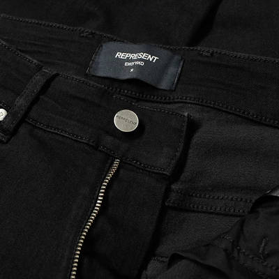Represent Essential Jean Black Detail