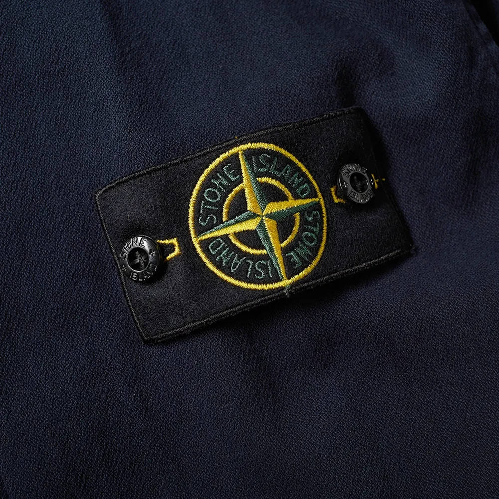 Stone Island Garment Dyed Zip Shirt Overshirt 751510704-V0020 Detail 2