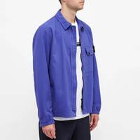 Stone Island Garment Dyed Zip Shirt Overshirt 751510704-V0043 Front