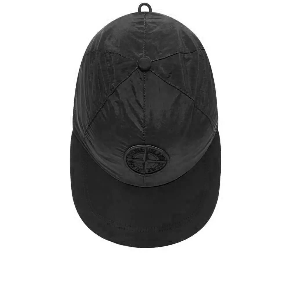 Stone Island Nylon Metal Cap Black Top