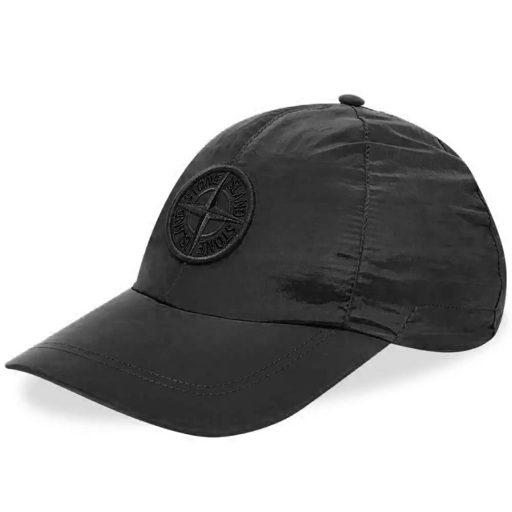 Stone Island Nylon Metal Cap Black