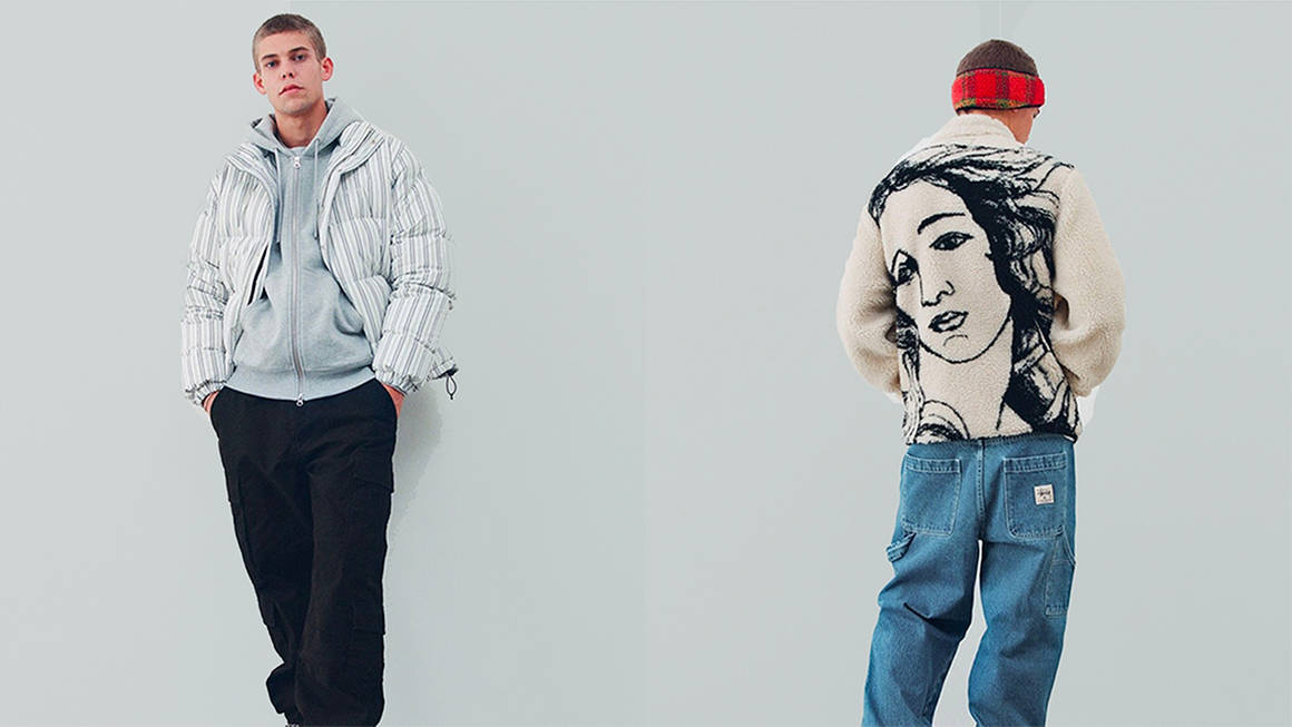 Stüssy Embrace a Variety of Stripes and Prints for FW21