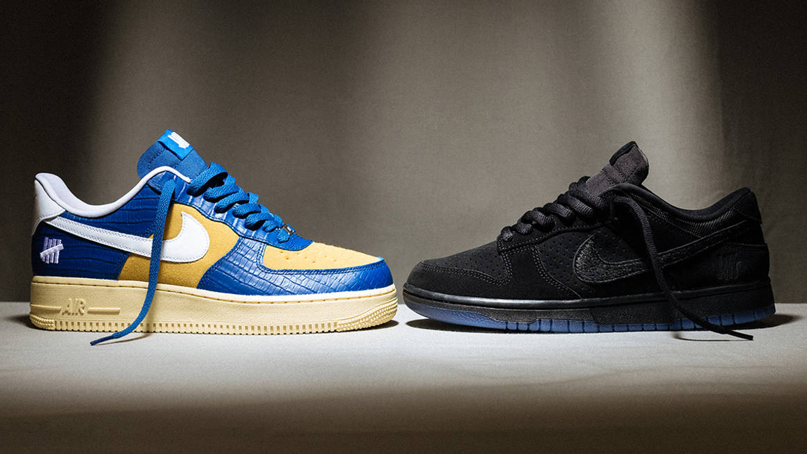UNDEFEATED x Nike Dunk Vs AF-1 5 On It Drop 2